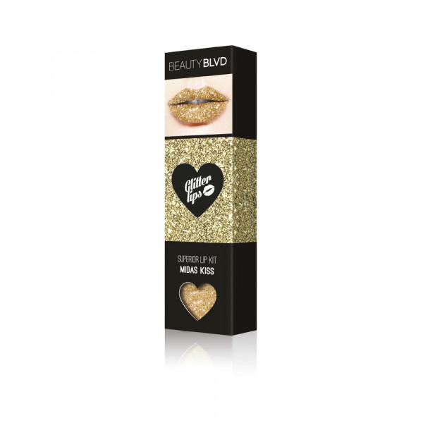 Glitter Lips Superior Lip Kit Midas Kiss