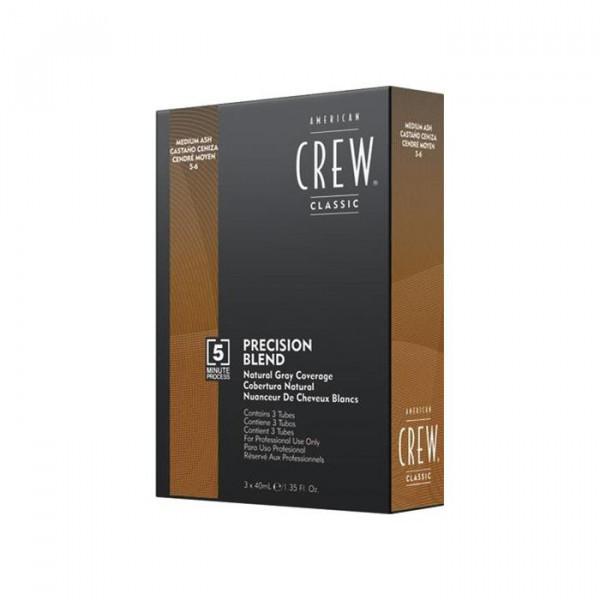 American Crew Classic Precision Blend 5-6 Medium Ash 3 x 40 ml