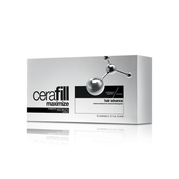 Redken Cerafill Maximize Hair Advance Aminexil Treatment 10 x 6 ml